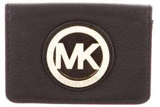MICHAEL Michael Kors Logo Card Case