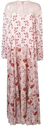 Giamba floral print maxi dress
