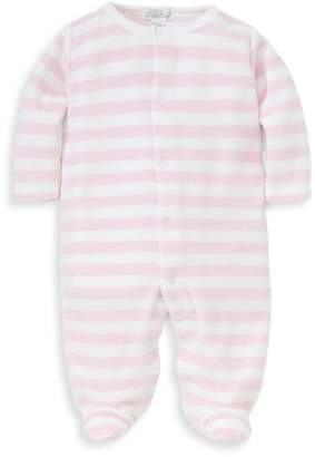 Kissy Kissy Baby Girl's Jungle Out There Striped Footie
