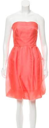 Oscar de la Renta Strapless Mini Dress w/ Tags