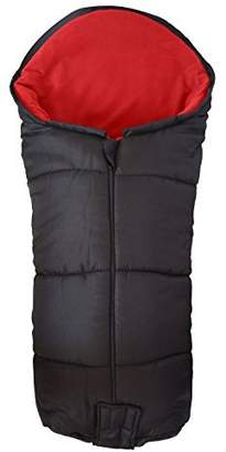 N. For Your Little One Deluxe Footmuff/Cosy Toes Compatible with Out About Nipper / 360 / Double/Sport Red