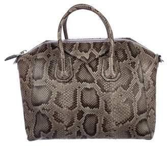 Givenchy Python Medium Antigona Bag