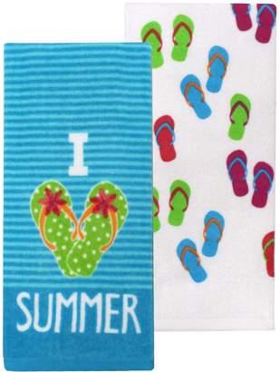 Celebrate Summer Together I Love Summer Kitchen Towel 2-pack