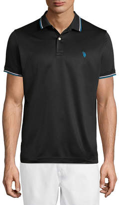 U.S. Polo Assn. USPA Embroidered Short Sleeve Knit Polo Shirt