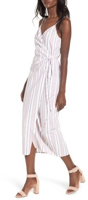 Women's Wayf Wrap Midi Dress $65 thestylecure.com