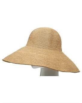 The Two Mrs Grenvilles Fine Braid Wide Brim Hat