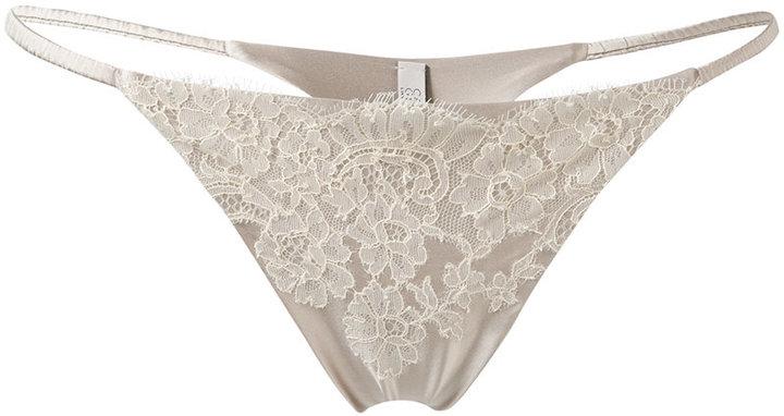 Carine GilsonCarine Gilson lacy mini thong