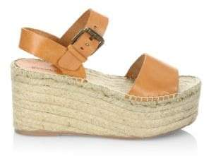 Soludos Minorca Leather High Platform Sandals