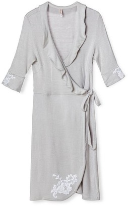 Pink Label Celeste Wrap Robe