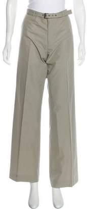 Bottega Veneta Mid-Rise Wide-Leg Pants