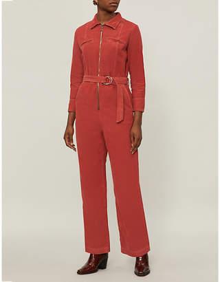 MiH Jeans Drayson cotton jumpsuit