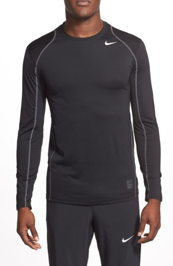 Men's Nike 'Pro Coo' Fitted Long Sleeve Dri-Fit T-Shirt