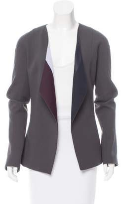 Narciso Rodriguez Open-Front Wool Jacket w/ Tags
