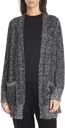 Eileen Fisher Organic Cotton Long Cardigan