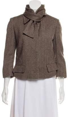Alexander McQueen Wool Tweed Jacket