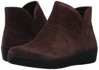 FitFlop Supermod Leather Ankle Boot II Women's Shoes
