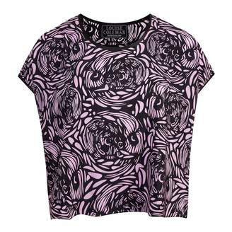Coleman Louise Silk Voodoo Skull Crop Top