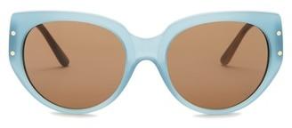 Tory Burch Women's Cat Eye Sunglasses $175 thestylecure.com