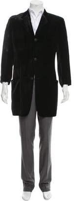 Gianni Versace Three-Button Velvet Jacket