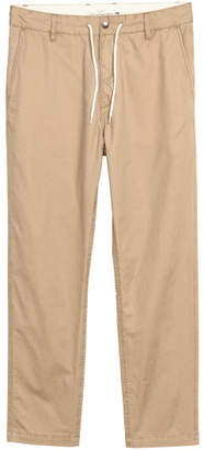H&M Drawstring Cotton Chinos - Beige