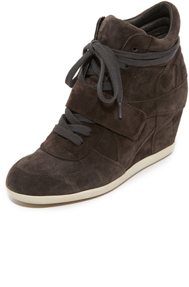 Ash Bowie Wedge Sneakers $198 thestylecure.com