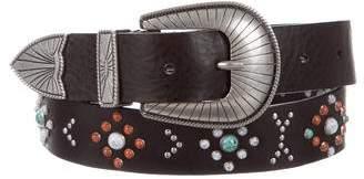 Frye Embellished Waist Belt