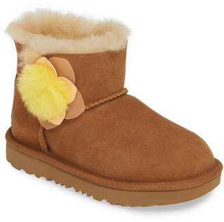 UGG Mini Bailey II Cactus Flower Genuine Shearling Water Resistant Boot
