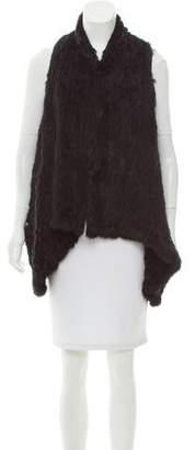 LaROK Asymmetrical Fur Vest