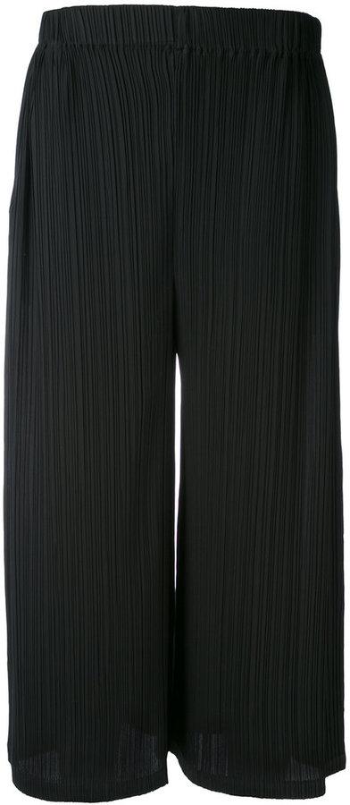 Jil SanderJil Sander pleated cropped trousers