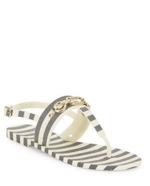 Kate Spade Polly Rubber Slingback Sandals