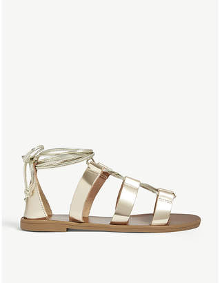 Aldo Xavierra leather gladiator sandals