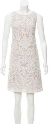 Emilio Pucci Crocheted Sleeveless Dress Crocheted Sleeveless Dress