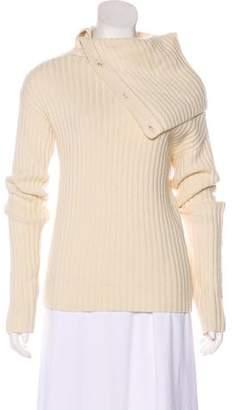 Joseph Wool Rib Knit Sweater