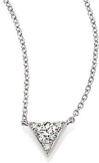 Hearts On Fire Women's Triplicity Triangle Diamond & 18K White Gold Pendant Necklace