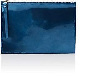 Barneys New York Women's Top-Zip Pouch - Blue