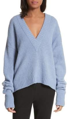 Tibi V-Neck Sweater
