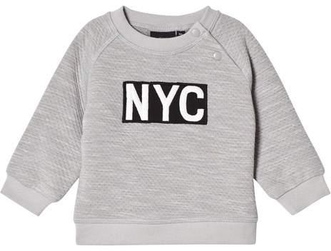 Petit by Sofie Schnoor Grey Melange NYC Sweatshirt