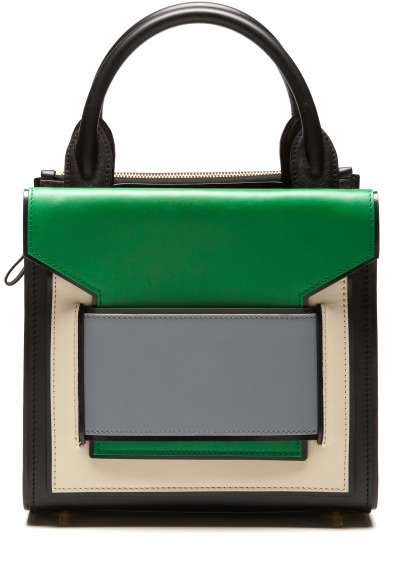 Pierre Hardy Preorder Black, Green, And Blue Mini Tote