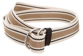 Prada Woven Patterned Belt