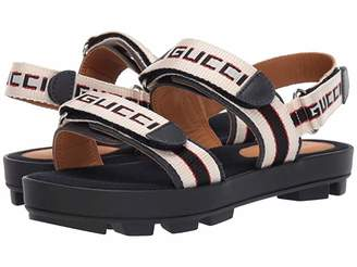Gucci Kids GG Double Strap Sandal (Little Kid)