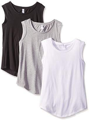 Alternative Women's The 3 Luxe Crew Cap Sleeve Shirt Set