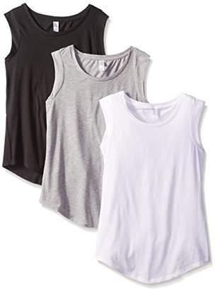 Alternative Women's The 3 Luxe Crew Cap Sleeve Shirt Set