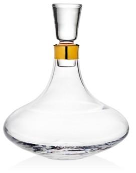 Godinger Novo Molten Gold Brandy Decanter