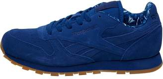 Reebok Classics Junior Leather Paisley Pack Trainers Collegiate Royal/White