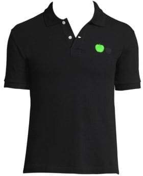 Comme des Garcons Beatles Apple-Embroidered Polo