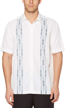 Cubavera Big & Tall Ombre Dobby Panel Shirt
