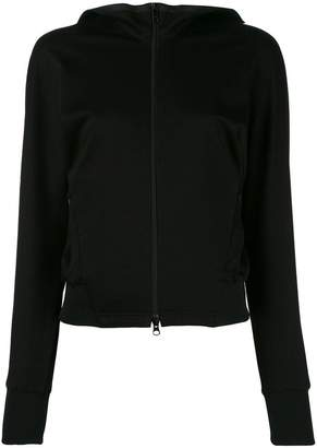 Y-3 double front fitted jacket
