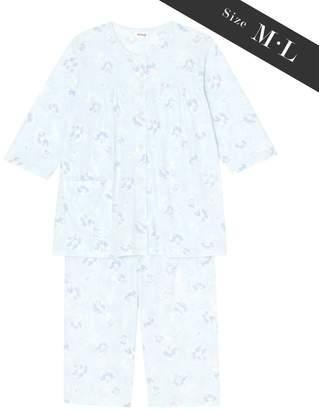 Wing 【お値打ち品パジャマ】綿100%ぼかし花柄 ウイング/ワコール(C)FDB