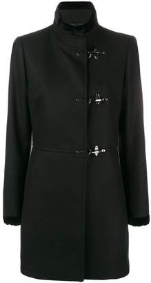 Fay hook fastening coat