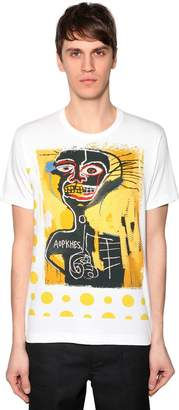 Comme des Garcons Basquiat Printed Cotton Jersey T-Shirt
